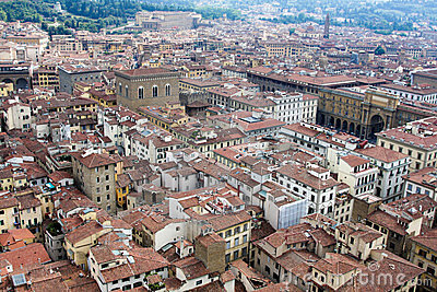 View of Firenze from Dome