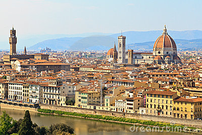 View of Florence / Firenze, Tuscany, Italy