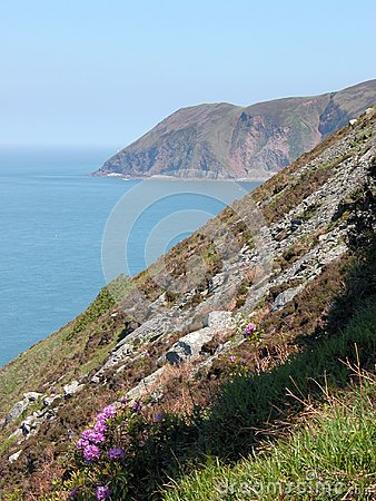 View of Foreland Point, North Devon