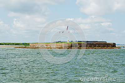 View on Fort Sumter