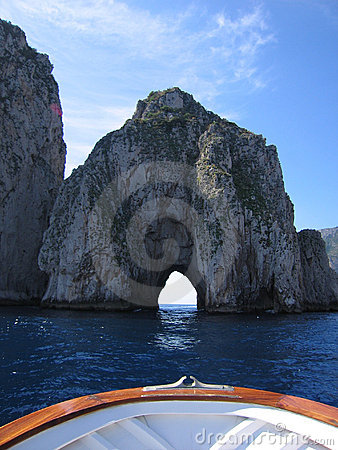 Free View From A Boat Near Capri Stock Images - 1785194