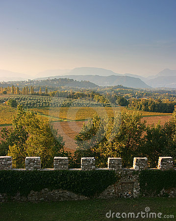Free View From A Castle Stock Image - 6804861
