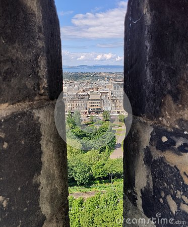 Free View From Edinburgh Castle Royalty Free Stock Photos - 158423488
