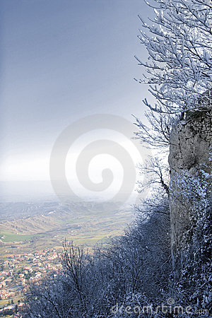 Free View From Monte Titano Royalty Free Stock Photos - 4158488