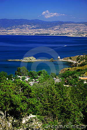 Free View From The Akamas Stock Image - 7348401