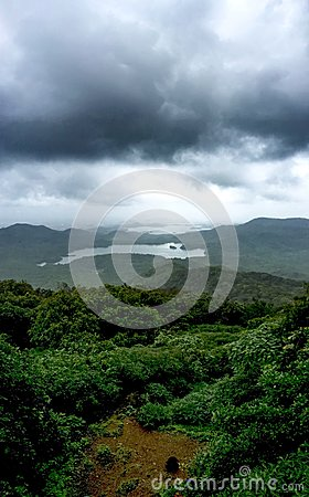 Free View From The Highest Point In Mumbai Royalty Free Stock Image - 76113846