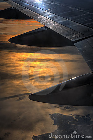 Free View From The Plane Royalty Free Stock Photo - 14374745