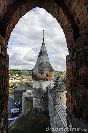 Free View From The Window Fortress Royalty Free Stock Image - 159366126