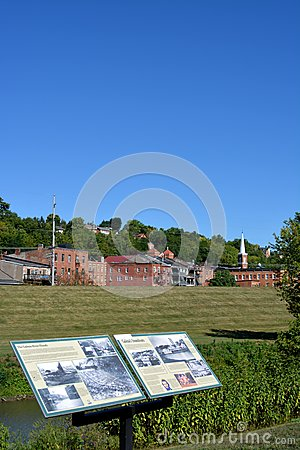 View of Galena, Illinois Editorial Image
