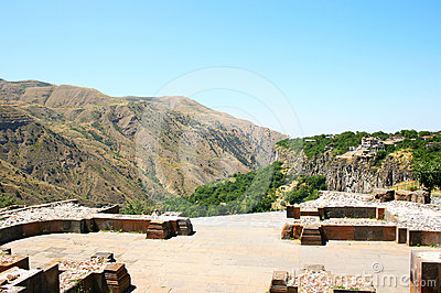 View from Garni temple
