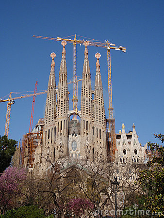 View of Gaudi s Cathedral