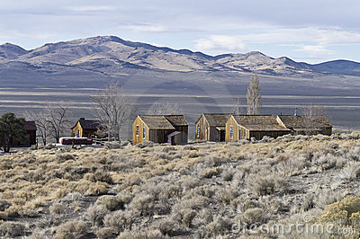 View from the ghost town of Berlin, Nevada