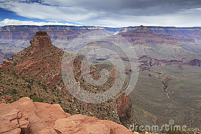 View of Grand Canyon from Cedar Ridge