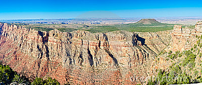 View Of Grand Canyon Panorama
