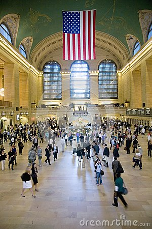 View of Grand Central Station Editorial Stock Photo
