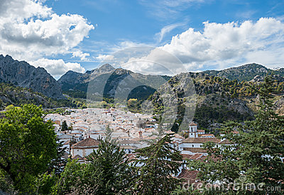 View of Grazalema village, Andalusia, Spain