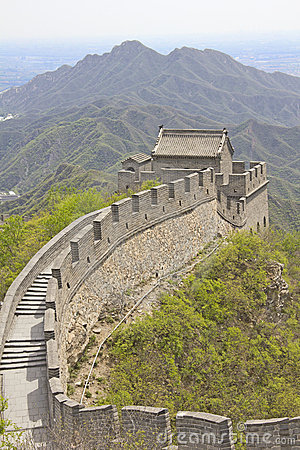 View of the Great Wall, Beijing, China