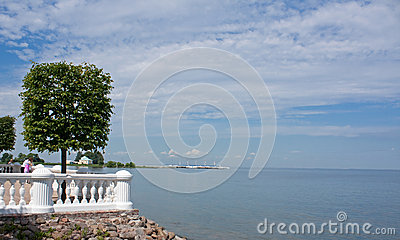 View on Gulf of Finland