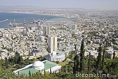 View of  Haifa. Israel.