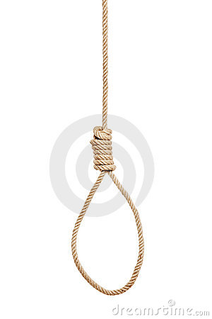 A view of a hangman s noose