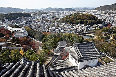 View from Himeji Castle,