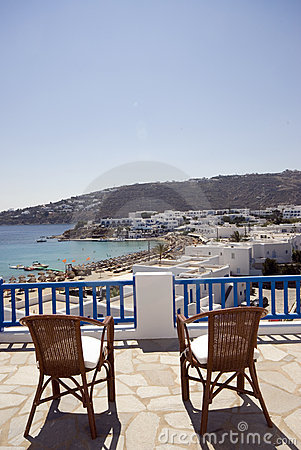 View hotel suite greek island