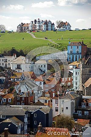 View of houses in Hastings