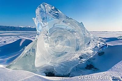 View of Ice floe