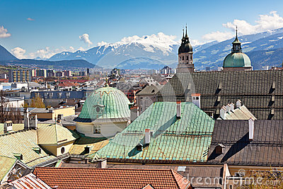 View Of Innsbruck, Austria Royalty Free Stock Photos - Image: 27658148