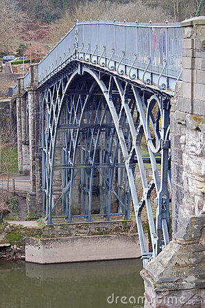 View of the iron bridge