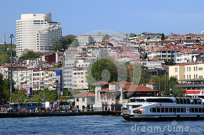 View of Istanbul from Bosphorus