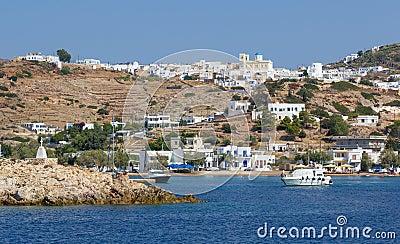View of Kimolos island, Cyclades, Greece