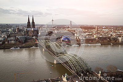 View of Koeln, Germany