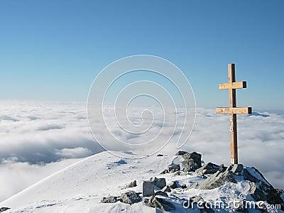 View from Krivan cross