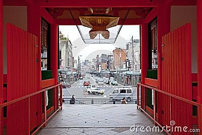 View Kyoto in yasaka shrine Editorial Stock Image