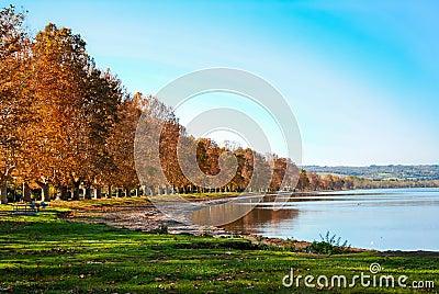 View of the Lake of Bolsena