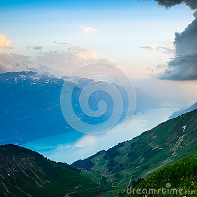 View of Lake Brienz