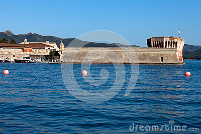 View Of Linguella Tower, Portoferraio, Elba Island