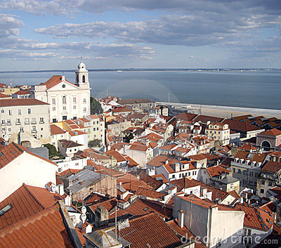 View of lisbon Editorial Image