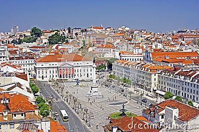 View at Lisbon city