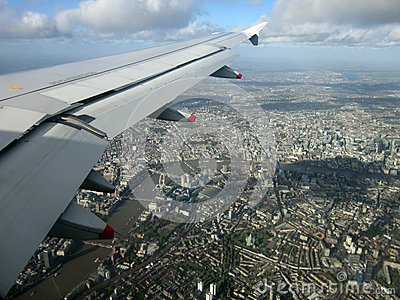View of London Editorial Stock Photo