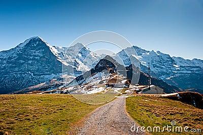 View from Maennlichen