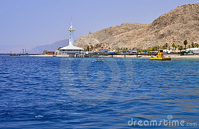 View on marine underwater observatory, Eilat