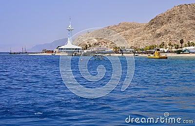 View on marine underwater observatory, Eilat