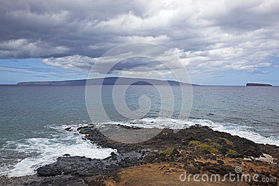 View from Maui, Hawaii