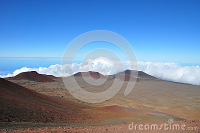 View from Mauna Kea - Big Island, Hawaii