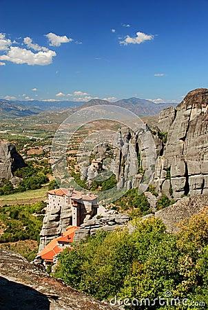 View of Meteora