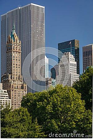 View of Midtown, Manhattan, South East Central Par