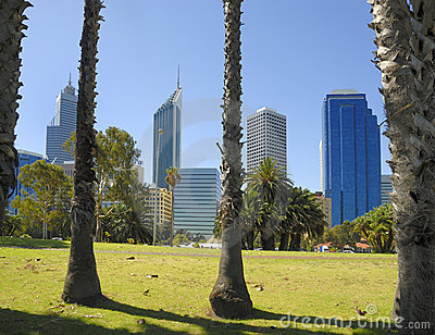 View at midtown Perth