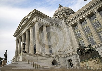 Missouri State capital Stock Photo